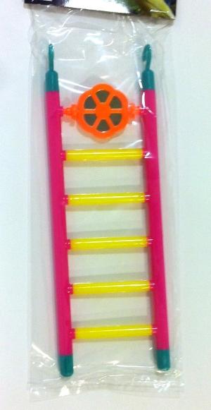 Escalera plástico con juguete