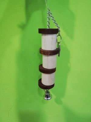 Juguete madera campana 31 cm