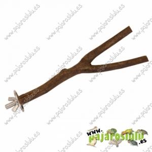 Palo posadero madera 20 cm