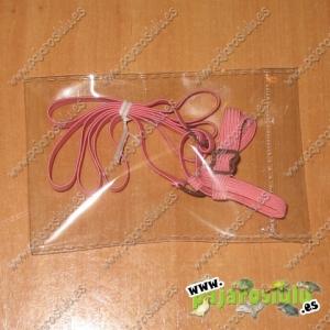 Arnés rosa