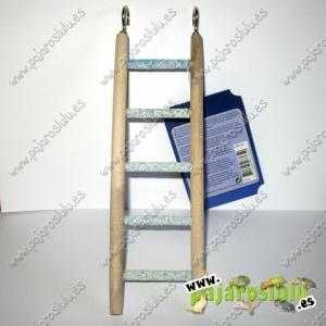 Escalera madera lima uñas