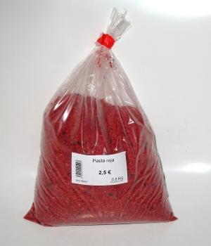 Pasta de cria roja