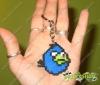 Llavero Angry birds azul