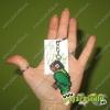 Llavero Agapornis Personata verde