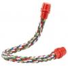Percha cuerda colores 37 cm