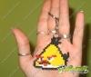 Llavero Angry birds amarillo