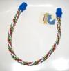 Percha cuerda colores 70 cm