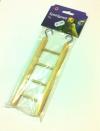 Escalera madera 4 peldaños