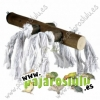Percha con cuerdas madera 20 cm