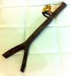 Palo posadero madera 35 cm